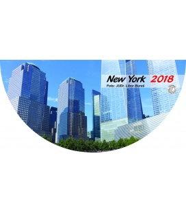 Nástěnný kalendář New York 2018