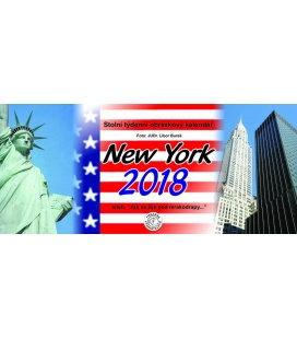 Stolní kalendář New York 2018
