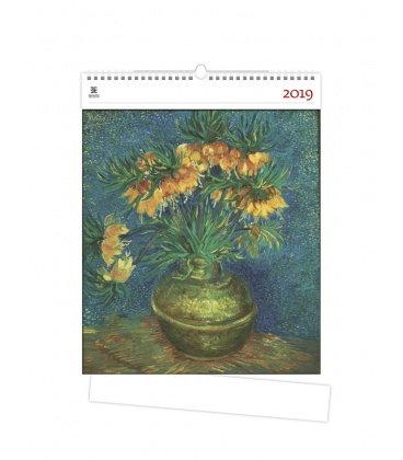 Nástěnný kalendář Vincent 2019