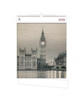 Nástěnný kalendář Big Ben 2019