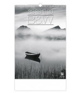 Nástěnný kalendář B & W 2019