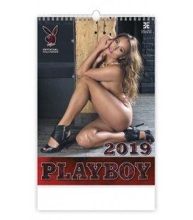 Nástěnný kalendář Playboy 2019