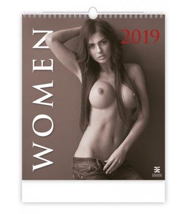 Nástěnný kalendář Women 2019