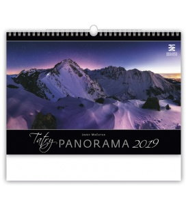 Wandkalender Tatry Panorama 2019