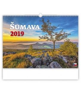 Nástěnný kalendář Šumava 2019
