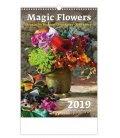 Wandkalender Magic Flowers/Magische Blumen/Živé květy/Živé kvety 2019