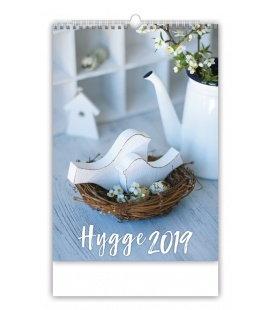 Nástěnný kalendář Hygge 2019