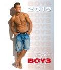 Nástěnný kalendář Sexy Boys 2019
