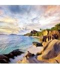 Nástěnný kalendář Tropical Beaches 2019