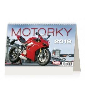 Tischkalender Motorky ČR/SR 2019