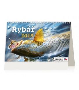 Stolní kalendář Rybář 2019