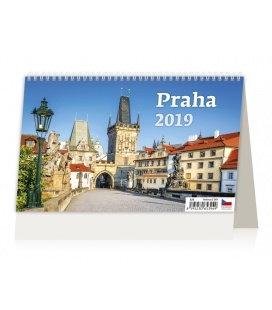 Tischkalender Praha 2019
