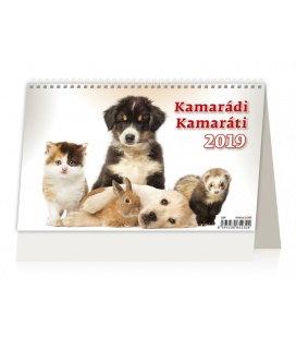 Stolní kalendář Kamarádi/Kamaráti 2019