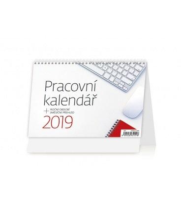 Stolní kalendář Pracovní kalendář 2019