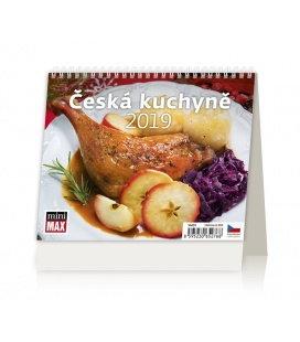 Stolní kalendář Minimax Česká kuchyně 2019