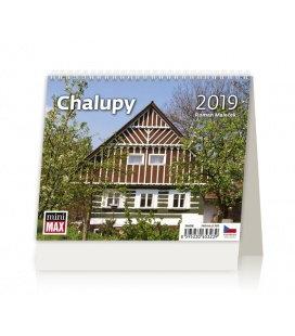 Stolní kalendář Minimax Chalupy 2019