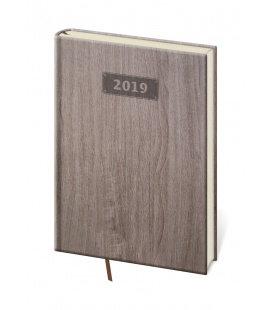 Diář denní A5 Wood 2019