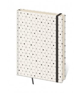 Notepad - Zápisník Vario design 5 - dotted L 2019