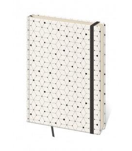 Zápisník Vario design 5 - linkovaný M 2019