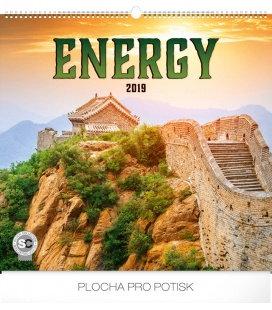Nástěnný kalendář Energie 2019