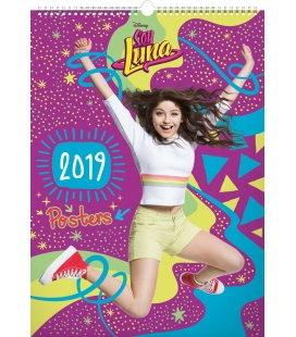 Nástěnný kalendář Soy Luna – Plakáty 2019