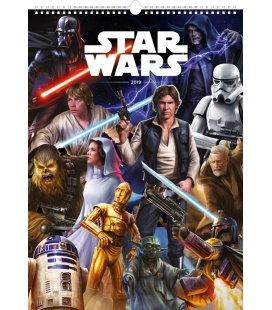 Nástěnný kalendář Star Wars – Plakáty 2019