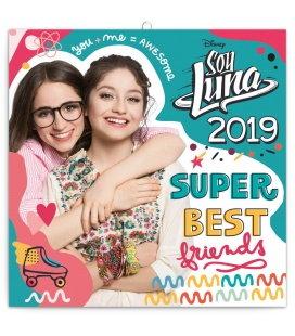 Nástěnný kalendář Soy Luna 2019