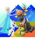 Nástěnný kalendář Frozen – Ledové království s 50 samolepkami 2019