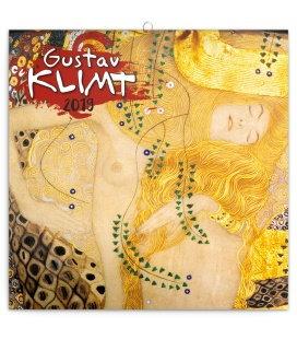 Wall calendar Gustav Klimt 2019