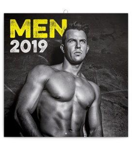 Nástěnný kalendář Muži 2019