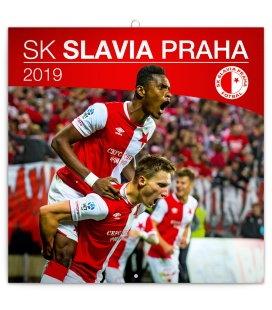 Nástěnný kalendář SK Slavia Praha (ilustrativní foto) 2019