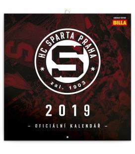 Nástěnný kalendář HC Sparta Praha (ilustrativní foto) 2019