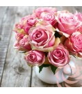 Nástěnný kalendář Růže - voňavý 2019