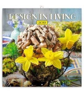Wandkalender Design in Living 2019