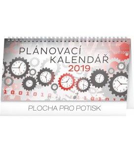 Stolní kalendář Plánovací 2019