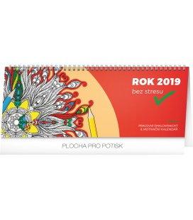 Stolní kalendář Rok bez stresu 2019