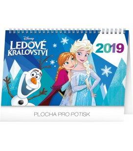 Stolní kalendář Frozen - Ledové království 2019
