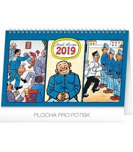 Tischkalender Josef Lada – Svejk 2019