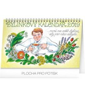 Stolní bylinkový kalendář – Kamila Skopová 2019