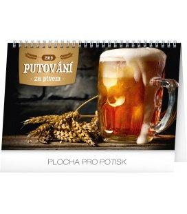 Stolní kalendář Putování za pivem 2019