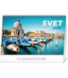 Stolní kalendář Svet SK 2019