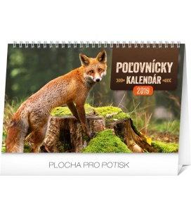 Stolní poľovnícky kalendár SK 2019