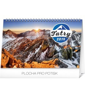 Tischkalender Tatras 2019