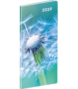 Diář kapesní plánovací měsíční Detail 2019