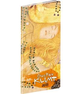 Diář kapesní plánovací měsíční Gustav Klimt 2019