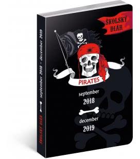 Diář školní Piráti SK (september 2018 – december 2019) 2019