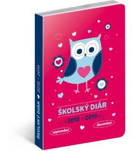 Diář školní Sovy SK (september 2018 – december 2019) 2019