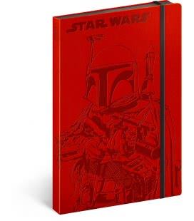 Notizbuch A5 Star Wars – Hunter, unliniert 2019