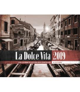 Nástěnný kalendář La Dolce Vita / La Dolce Vita – Italienische Lebensart 2019
