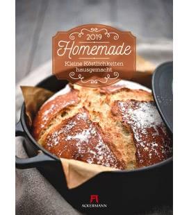 Nástěnný kalendář Domácí produkty / Homemade - Hausgemacht 2019
